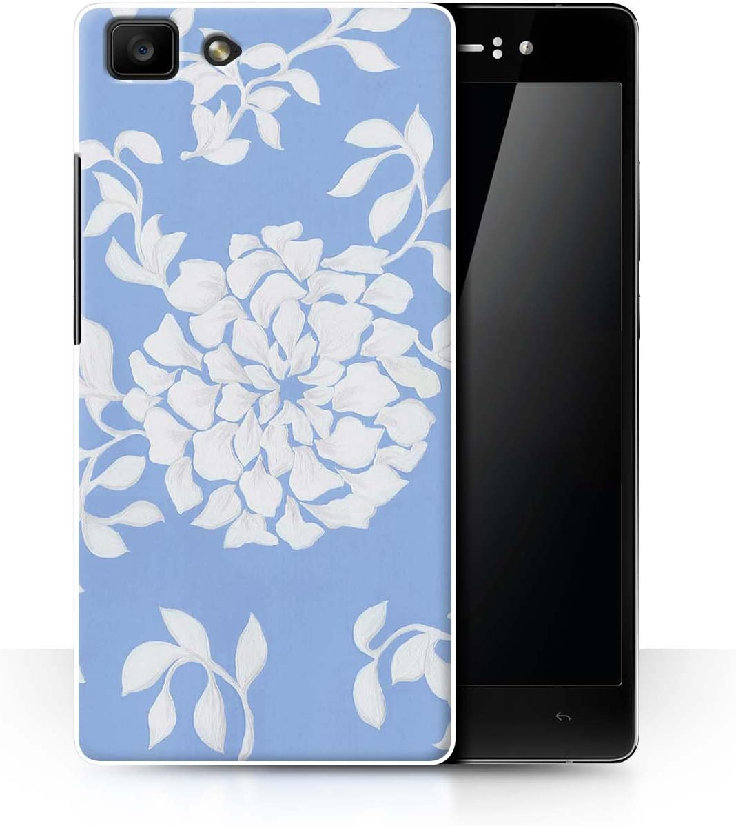 Stuff4® Phone Case/Cover/Skin/OPP-CC/bluefshn Collection Fiore ...
