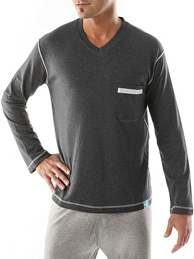 Tepso® Camisa de Pijama Hombres contra la Psoriasis o Dermatitis atópica/Eczema: Amazon.es: Ropa y accesorios