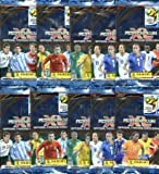 2010 World Cup Card Special!! TEN (10) Factory Sealed Foil Packs of 2010 Panini Adrenalyn XL World Cup Card Game! 6 Cards Per Pack a total of SIXTY (60) Brand New 2010 World Cup Soccer Cards!! International Edition from Italy!