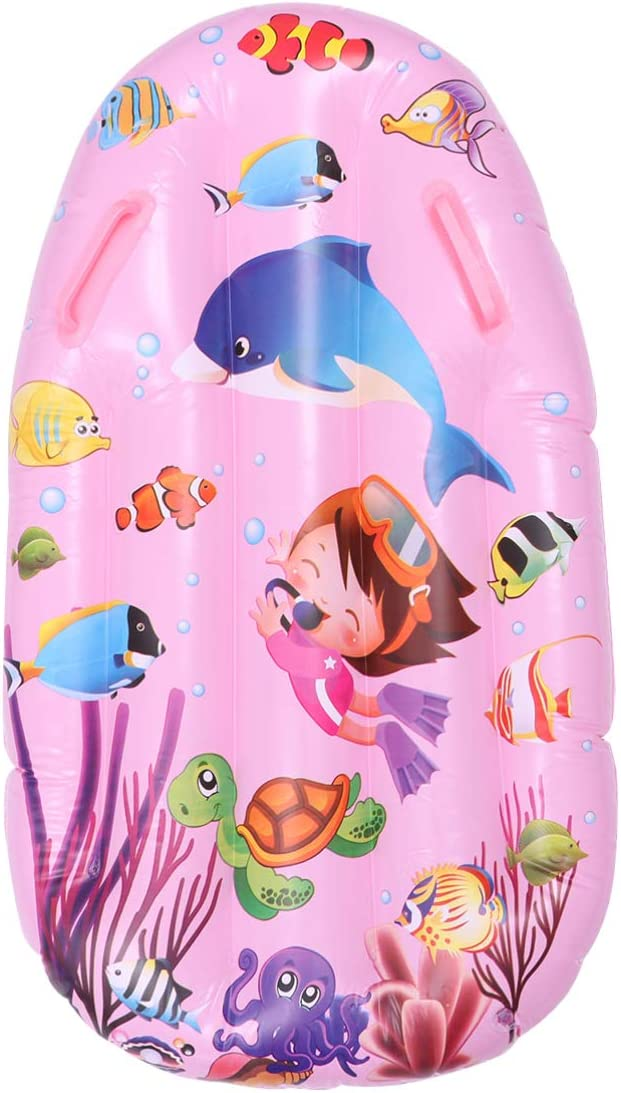 CLISPEED Hamaca de Agua Flotador de Piscina Inflable Flotadores de Piscina Tumbona Flotadores de Piscina Junta Piscina de Balsa Piscina Flotante Juguetes (Rosa)