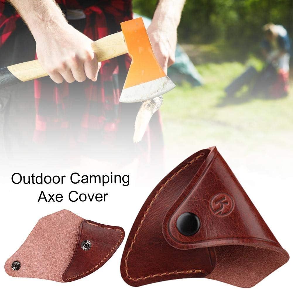 Axt Kopf Mantel Leder Beil /Überleben Axt Abdeckung Outdoor Camping Axt Fall f/ür Arbeit Camping Bushcraft Ausr/üstung
