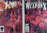 Uncanny X-Men (1981) #205 Deadpool (1997) #57 NM (9.4) Weapon X Barry Smith