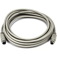 Monoprice 15-Feet PS/2 MDIN-6 Male to Female Cable (102542)