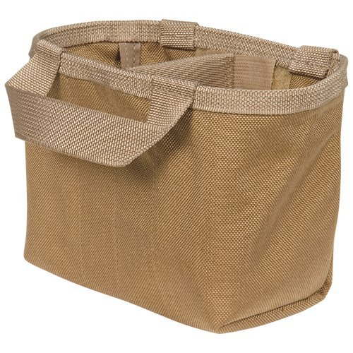 Atlas 46 AIMS Split-Top Fastener Pouch Insert with Divider, Coyote | Hand crafted in the USA by Atlas 46