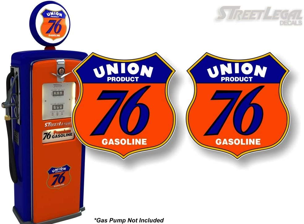 76 Union Oil gasoline racing vintage sign