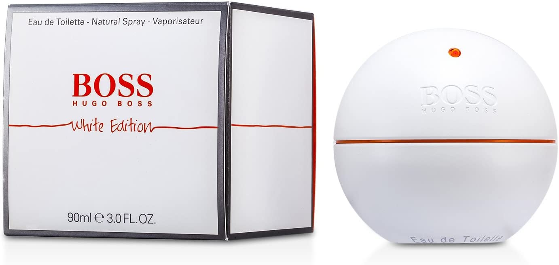 Boss In Motion White by Hugo Boss Eau De Toilette Spray 3 oz / 90 ml (Men)