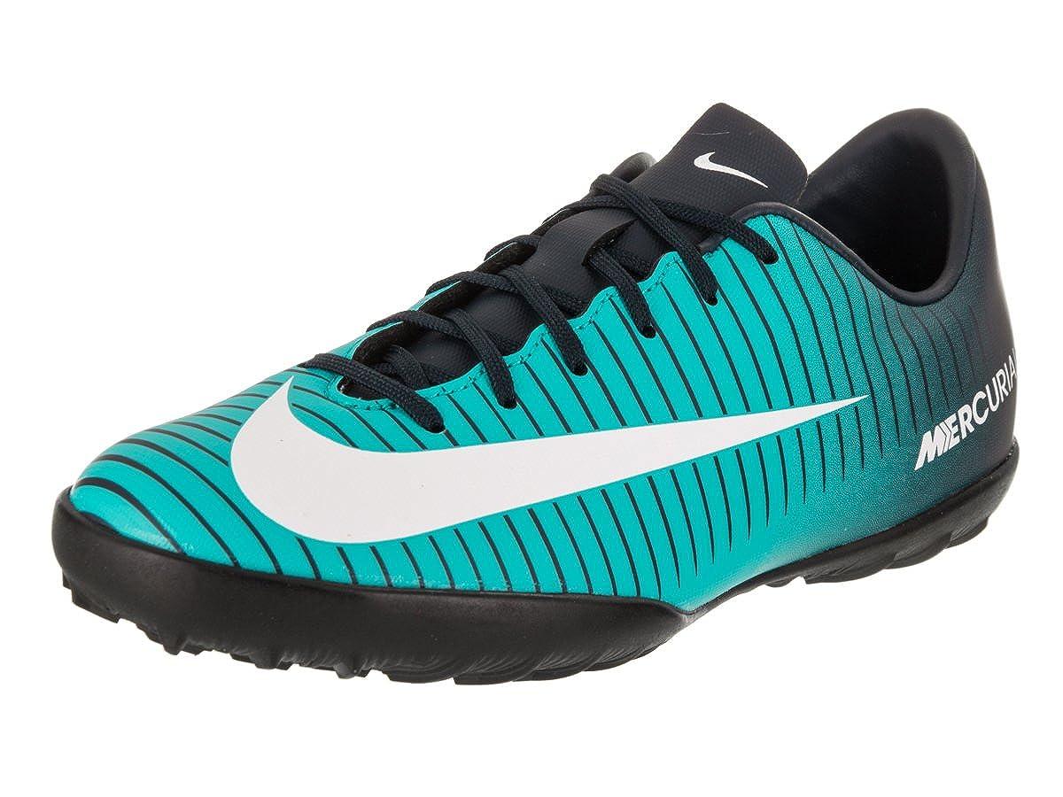 9d9cba44dec6 Amazon.com | Nike Jr. MercurialX Vapor XI TF Turf Soccer Cleats (3.5Y)  Gamma Blue | Soccer