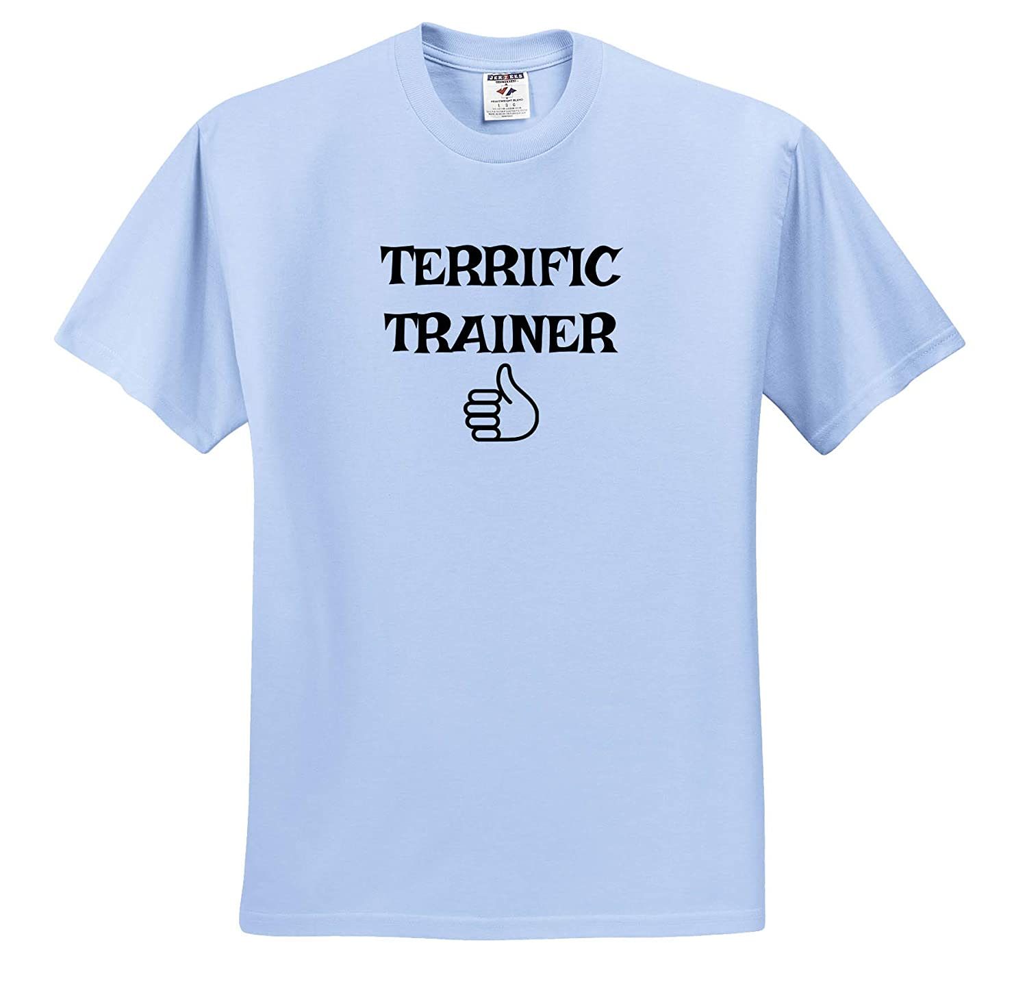 Image of Terrific Trainer 3dRose Carrie Merchant Quote T-Shirts