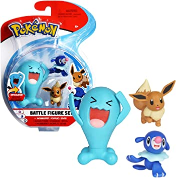Bandai – Pokémon – Pack de 3: Amazon.es: Juguetes y juegos