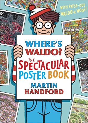 Where's Waldo? The Spectacular Poster Book: Martin Handford ...