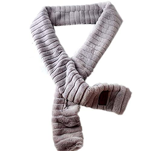 Accessoryo –  Stola  – Basic – Donna Grigio Grey Taglia unica