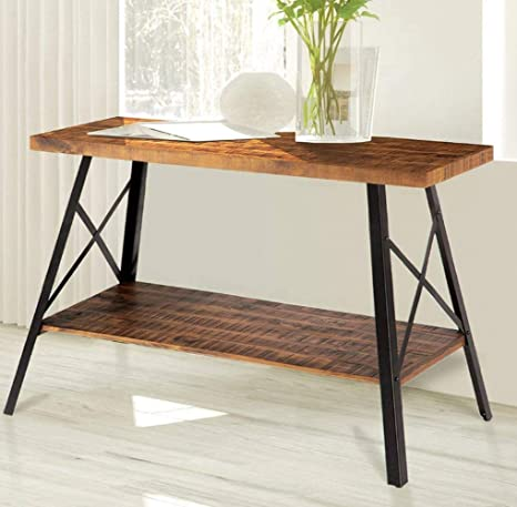 Pleasing Amazon Com Retro Sofa Table Premium Quality Brown Color Home Interior And Landscaping Mentranervesignezvosmurscom
