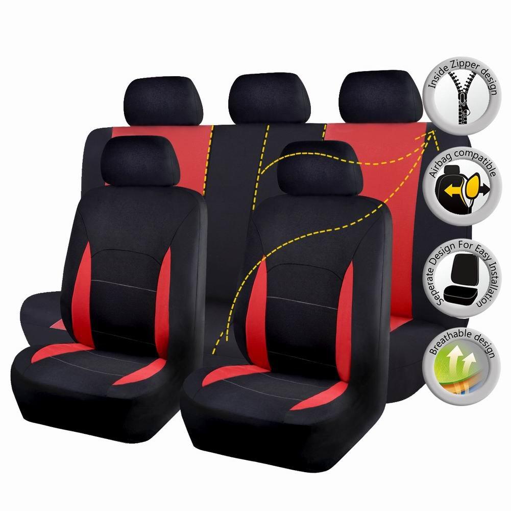 Funda universal para asiento de coche con funda compatible con airbag Ningbo Qiyang International Trade Co. Ltd