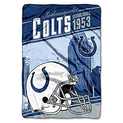 Amazon Northwest Indianapolis Colts NFL Stagger 40 X 40 Inspiration Colts Throw Blanket