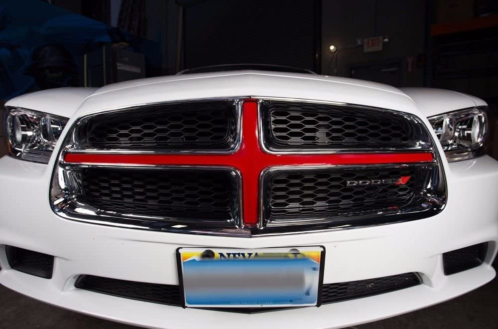 TAIL decal kit DIY step by step info CUSTOMIZE YOURS 2013 Dodge CHARGER HOOD