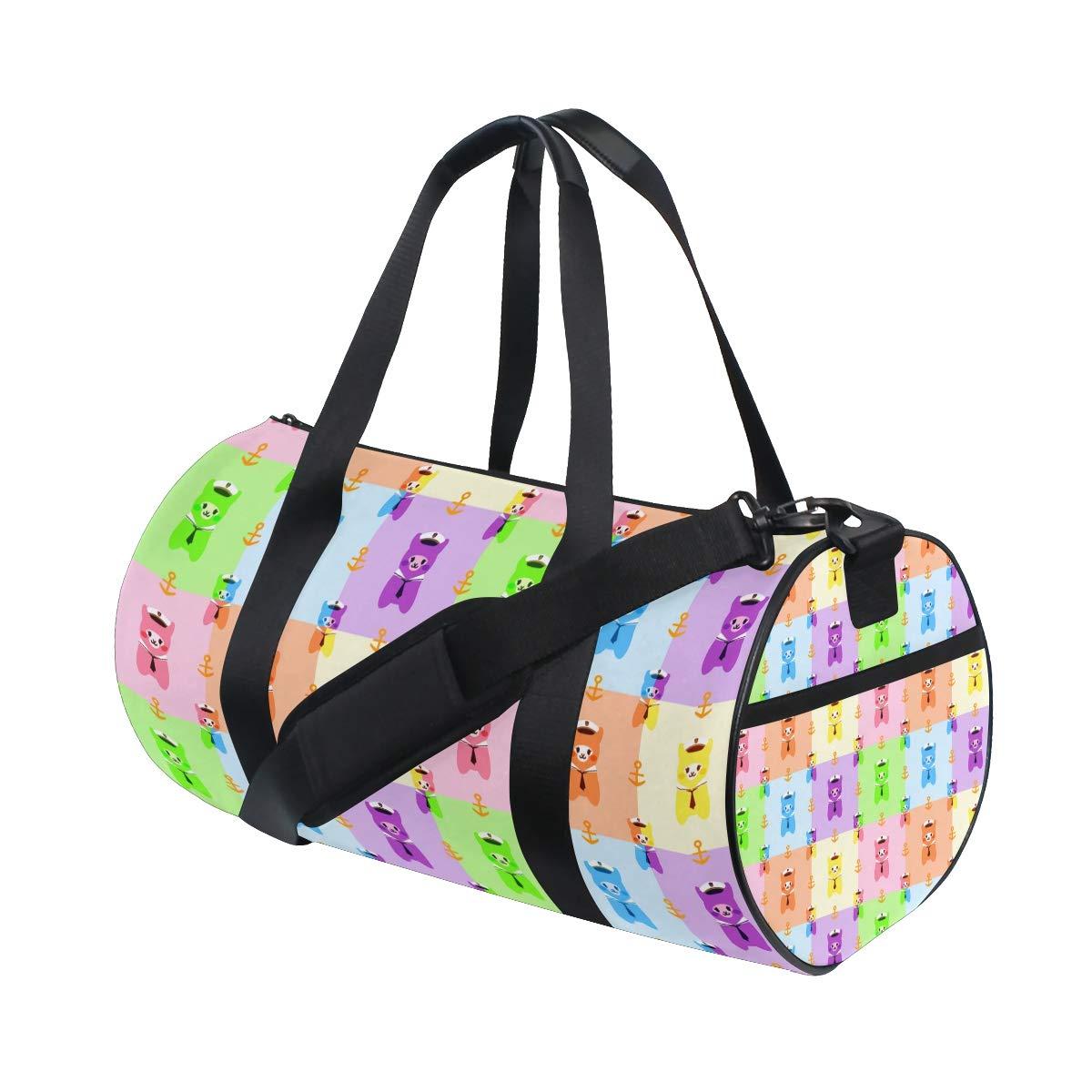 suitable for men and women. Captain AlpacasPopular casual fitness bag sports bag non-slip wearable handbag crossbody bag