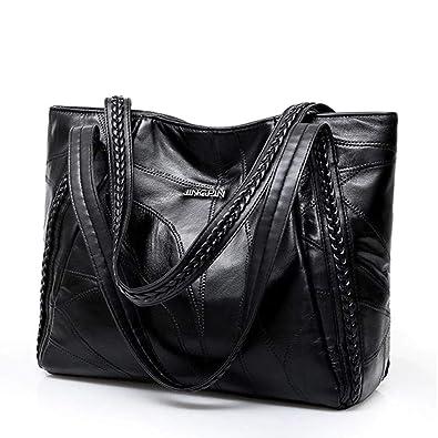 7ad65b14b2f9c2 Amazon.com: Top-handle Bags Luxury Handbags Women Bags Designer Fashion  Totes For Ladies Big Leather Handbag Female Hobo Sac Shoulder Bag: Shoes