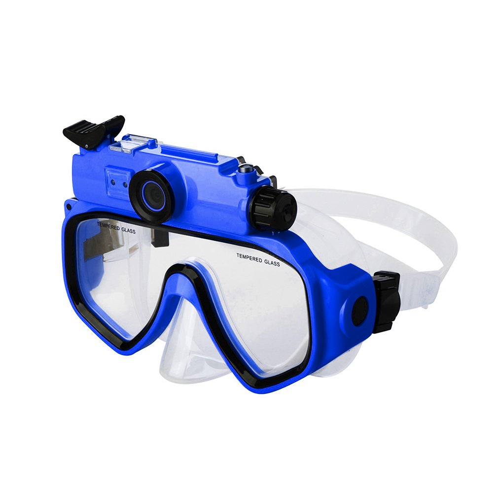 DARONGFENG Diving Mask with Underwater Camera,Waterproof Video Recorder by DARONGFENG (Image #1)