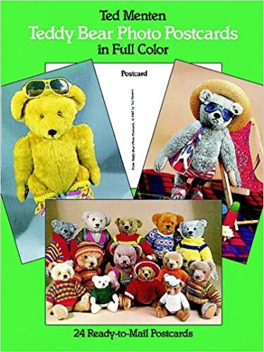 Descargar libro de google Teddy Bear Photo Postcards in Full Color: 24 Ready-to-Mail Postcards 0486248046 (Spanish Edition) ePub