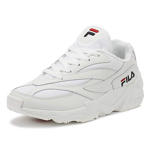 Fila , Baskets pour Femme White White, 40 EU: