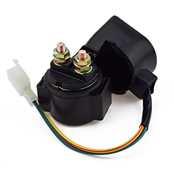 HIAORS Starter Solenoid Relay for 70cc 110cc 150cc 250cc