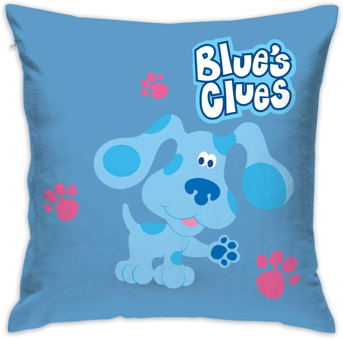 NNJD Blue's Clues Dog Decorative Reading Pillow Covers Case Pillowcases 18x18 in