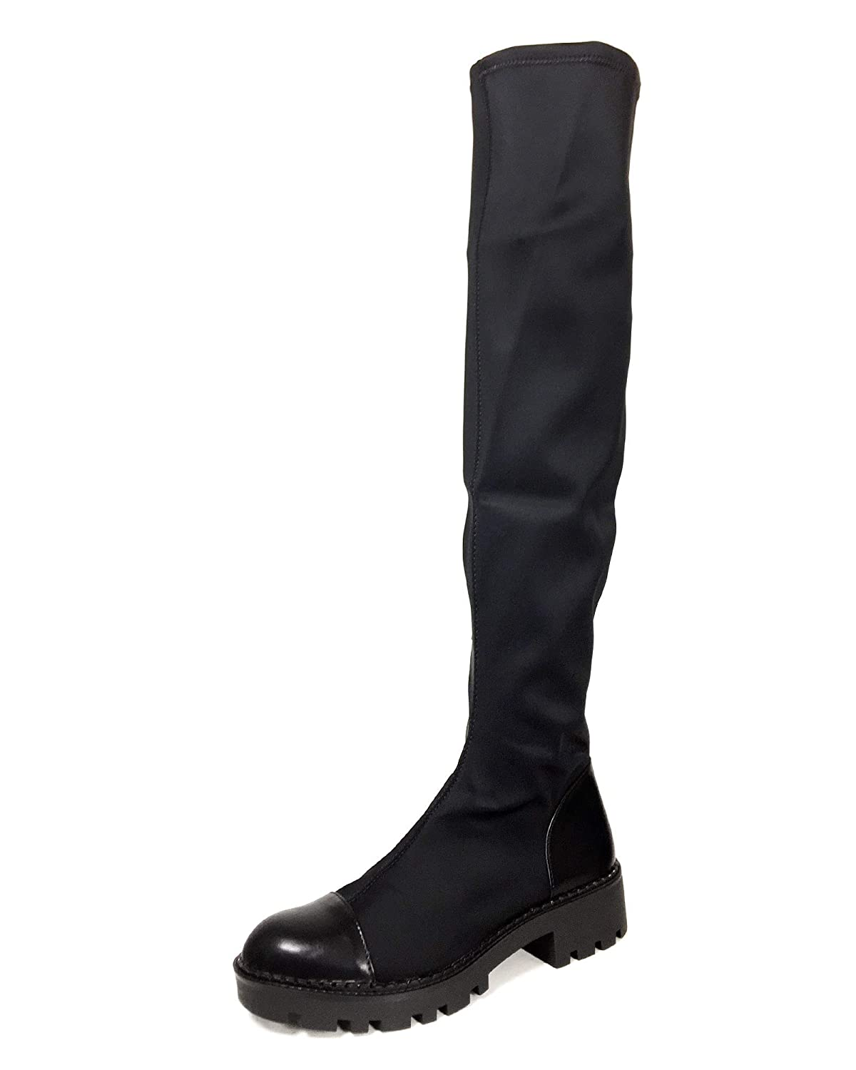 d93e1a64444 Zara Women s Track Sole Tall Boots 7050 301  Amazon.co.uk  Shoes   Bags