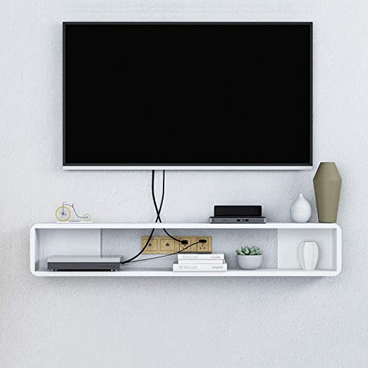 Flotante TV Mueble Gabinete,Madera Pared Consola para TV Cuelgue ...