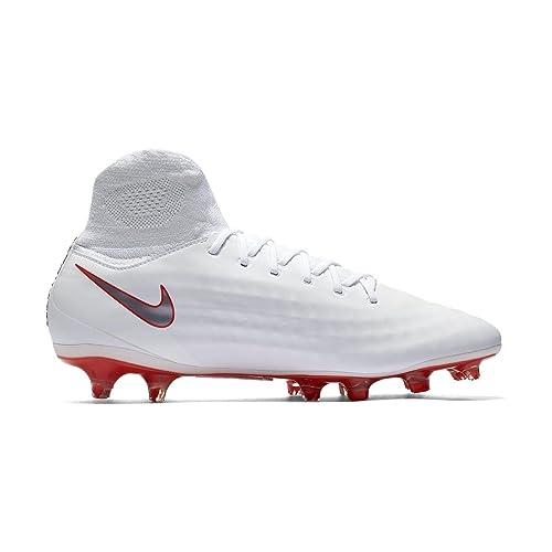 5a052844b8b Nike Men s Football Boots White White White Size  6 UK  Amazon.co.uk ...
