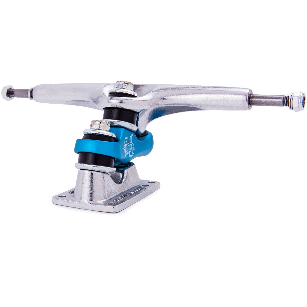 Gullwing Sidewinder II ロングボード スケートボードトラック - ブルー 10インチ B07G3KFBR9