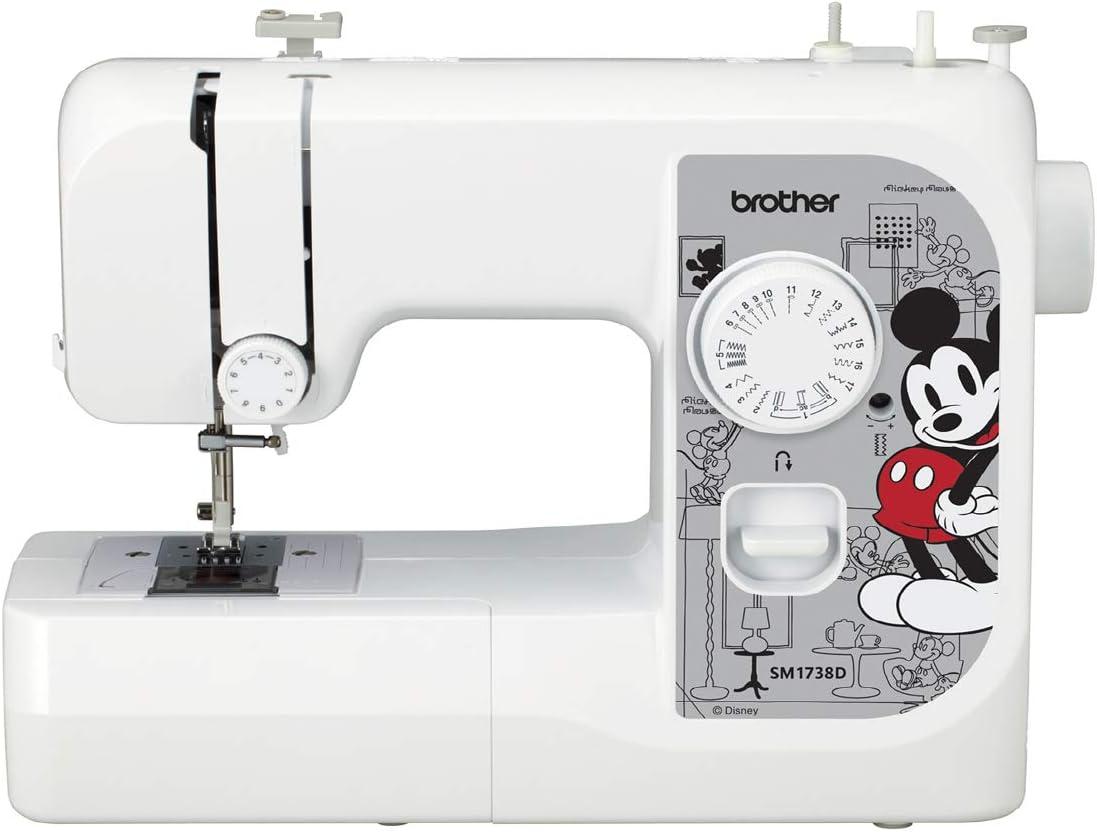 Brother Sewing SM1738D, Placas Frontales para máquinas, 17 Puntos ...