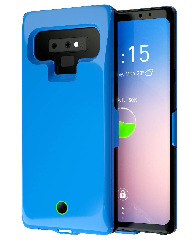 Funda Con Bateria De 6500mah Para Samsung Galaxy Note 9 Femkeva [7h6fccsm]