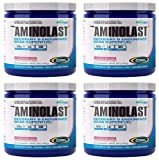(4 PACK) - Gaspari - Aminolast - Strawberry Kiwi | 420g | 4 PACK BUNDLE