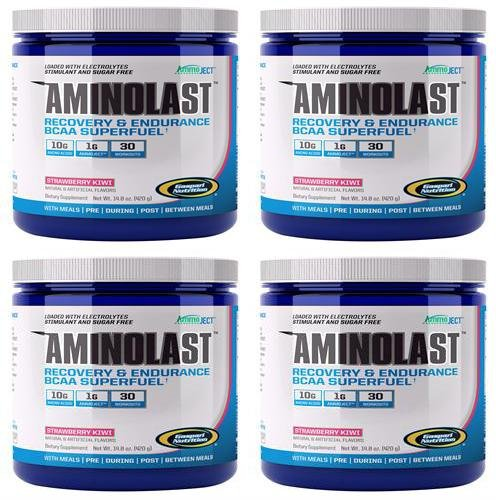 Aminolast - Strawberry Kiwi | 420g | 4 PACK BUNDLE ()
