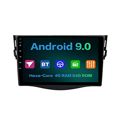 "Dasaita 9"" Android 9.0 Car Radio Audio Stereo for Toyota Rav 4 2009 2010 2011 2012 Wireless Carplay Bluetooth 5.0 Head Unit GPS Navigation Music Video Player Multimedia Hexa Core 4G 64G DSP: GPS & Navigation [5Bkhe0805052]"
