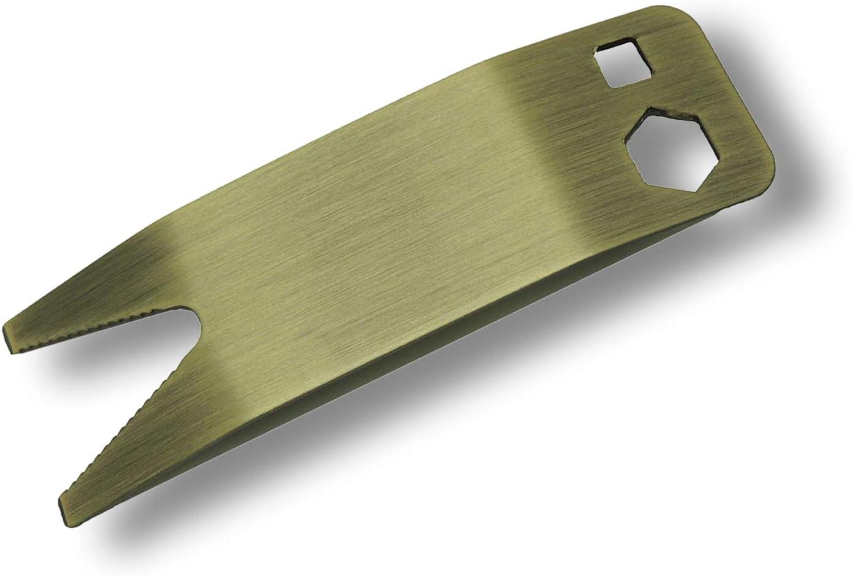 Bass Werkzeug Schraubenschlüssel für Gitarre vielseitig Spanner aus Stahl