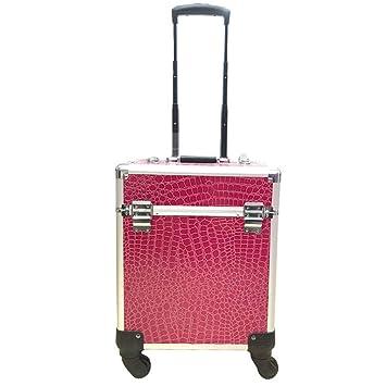 5483b6fe3552d Amazon.com : Zzyq Beauty Trolley Box Travel Makeup Case Storage ...