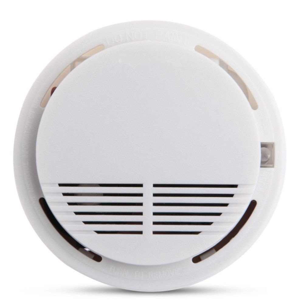 Diymore Smoke Detector Fire Alarm Photoelectric Sensor for Home Standalone Security System
