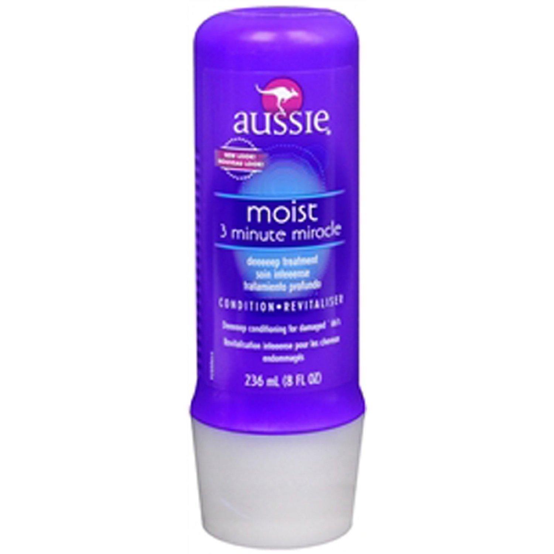 Aussie Moist 3 Minute Miracle Moist Deeeeep Liquid Conditioner, 8 Ounce (Pack of 3)