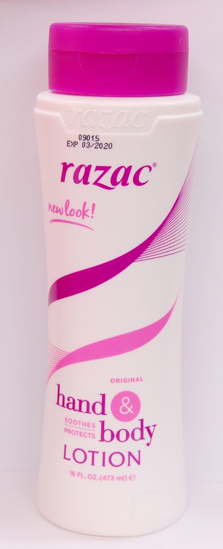 Razac Hand & Body Lotion 16oz (3 Pack)