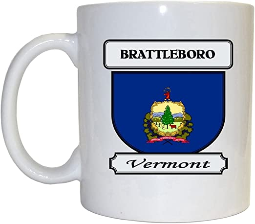 Amazon Com Brattleboro Vermont Vt City Mug Kitchen Dining