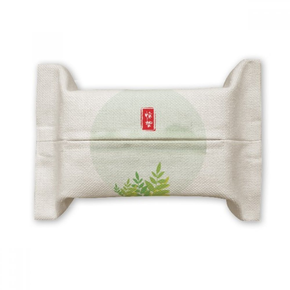 DIYthinker Excited Insects Twenty Four Solar Term Cotton Linen Tissue Paper Cover Holder Storage Container Gift