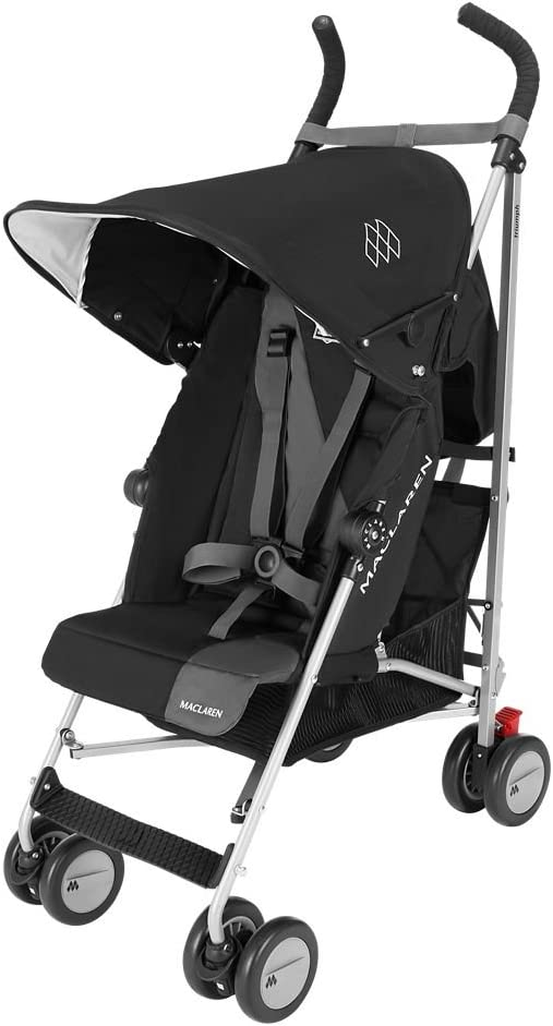 Maclaren Triumph - Silla de paseo, color negro/Charcoal: Amazon.es ...