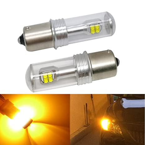 2pcs LED coche faros antiniebla Bombillas, LED de cristal cola, a su vez luz