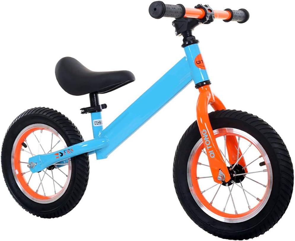 W&HH Bicicleta Sin Pedales para Niños, Bicicleta De Equilibrio con ...