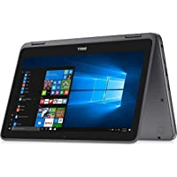 """2018 Dell Inspiron 11.6"""" 2-in-1 Convertible Touchscreen Business Laptop/Tablet - AMD Dual-Core A9-9420e 802.11bgn Bluetooth Webcam MaxxAudio Win 10- Red/Gray, RAM / SSD up to 8G RAM 512G SSD"""