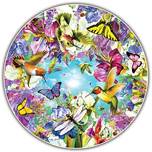 Round Table Puzzle - Hummingbirds (500 Piece)
