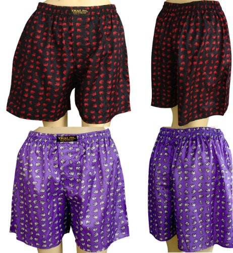 Thai Boxer Costume (2 x Unisex'sSmall Elephants Design Size 32-35