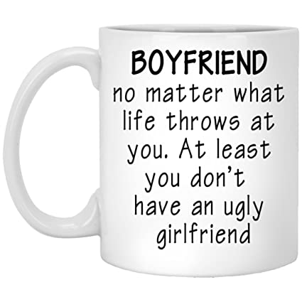 For My Boyfriend Mug Birthday Gift