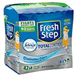 Fresh Step Total Control with Febreze Clumping Cat Litter (42 lbs.) - 3 PACK